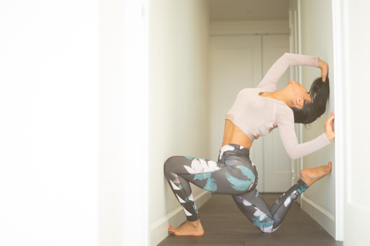 One-Legged King Pigeon Pose II | Eka Pada Rajakapotasana II | Yoga | Jannette Brodersen