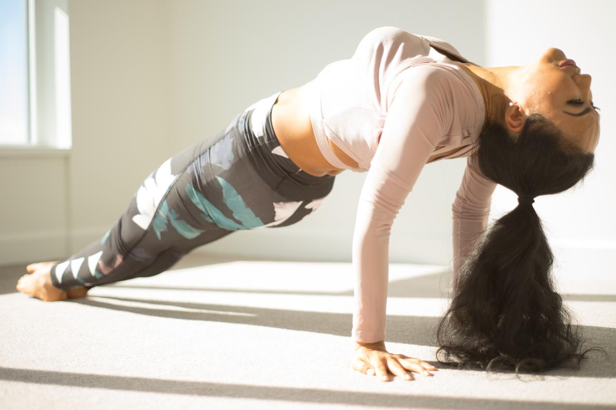 Upward Plank Pose | Purvottanasana | Yoga | Jannette Brodersen